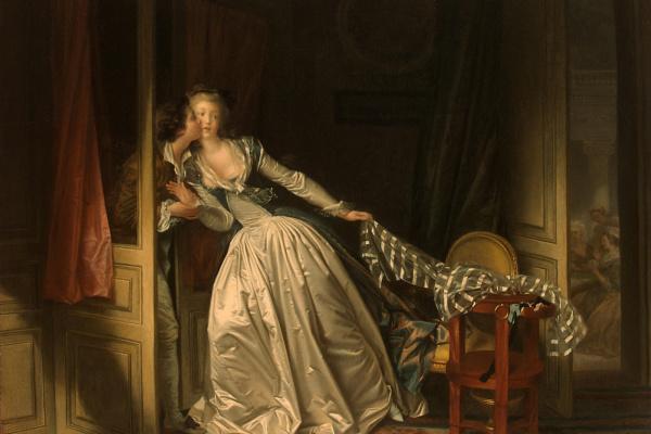 Жан Оноре Фрагонар. Поцелуй украдкой