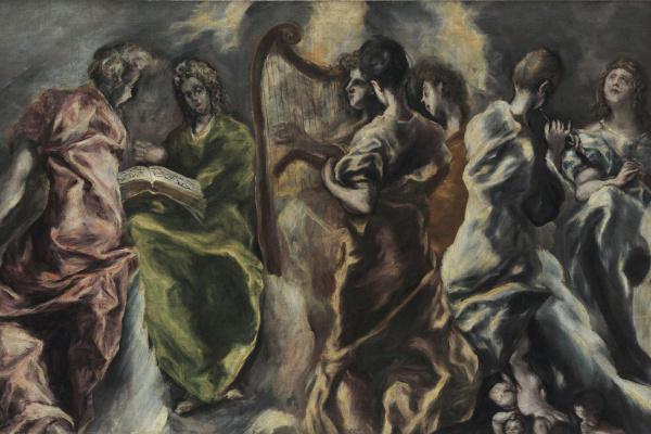 Эль Греко (Доменико Теотокопули). Концерт ангелов