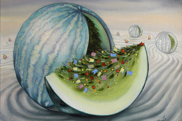 Lisa Ray. Winter watermelon