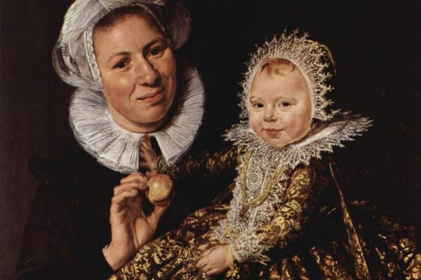 Франс Хальс. Кормилица с ребенком