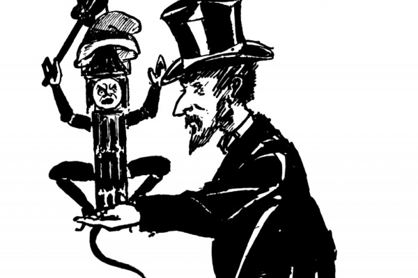 Aubrey Beardsley. Mr. Henry Arthur Jones and his Bauble