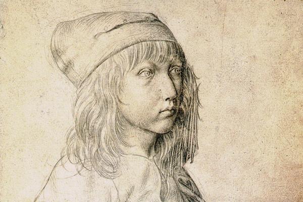 Альбрехт Дюрер. Автопортрет в возрасте 13 лет