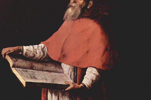Francisco de Zurbaran. Saint Jerome