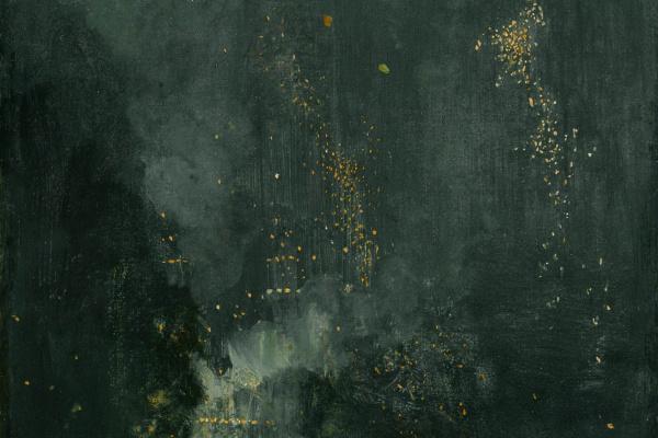 Джеймс Эббот Макнейл Уистлер. Ноктюрн в черном и золотом. Падающая ракета