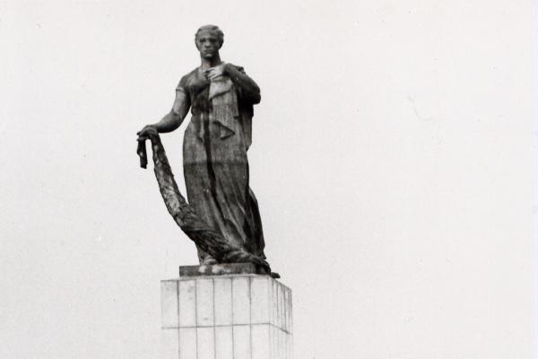 """Василий Михайлович Ушаков. Памятник """"Мать-Родина"""". Нижний Тагил"""