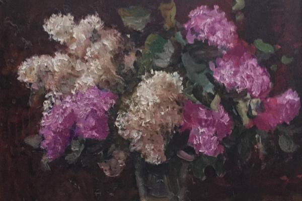 Юрий Александрович Волков. Сирень, 1987