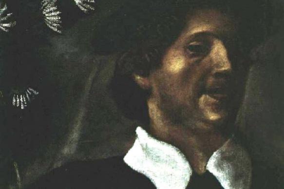 Марк Захарович Шагал. Автопортрет с кистями
