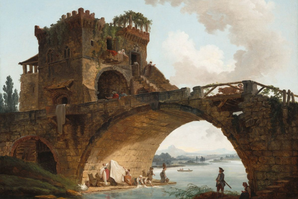 Hubert Robert. Ponte Salario