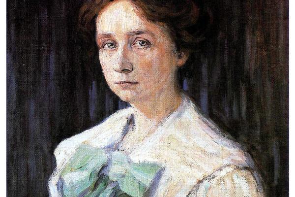 Wassily Kandinsky. Portrait Of Gabriela Munter