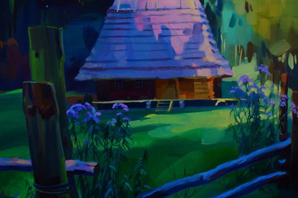 Anastasia Yaroshevich. In the shadows