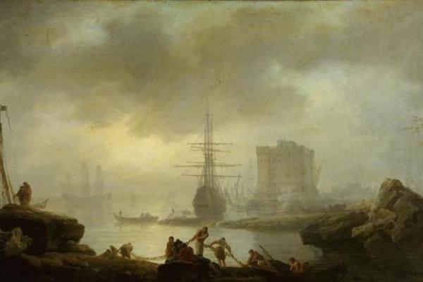 Клод Жозеф Верне. Морской вид. Туман