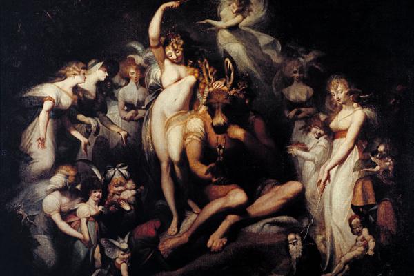 Johann Heinrich Fuessli. Queen Titania of the elves