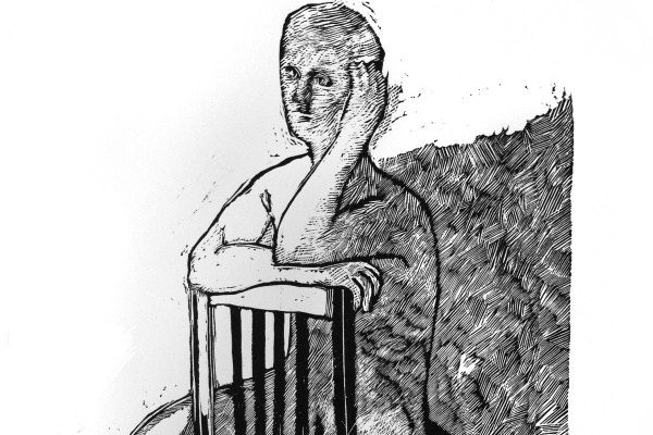 Игорь Александрович Юдкин. На стуле
