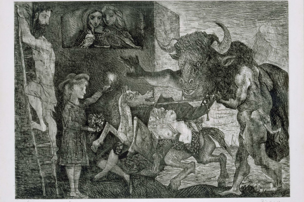 Пабло Пикассо. Минотавромахия