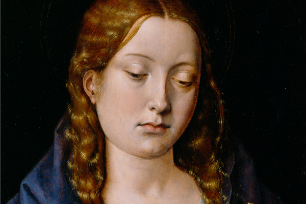 Michel Sittow. Catherine of Aragón as the Magdalene