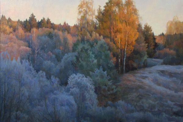 Oleg Borisovich Zakharov. Sunrise. Mystery Cover.
