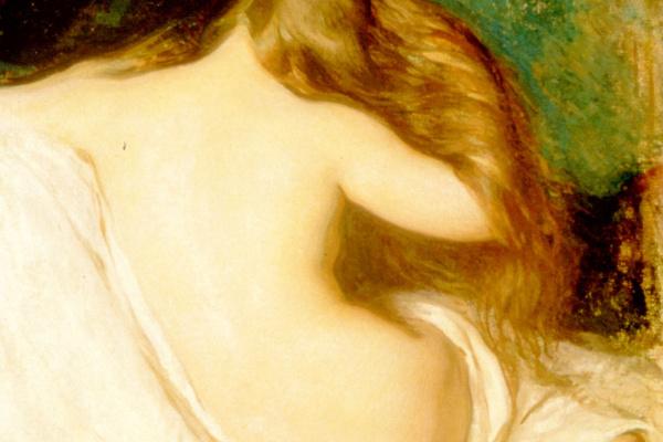 Джозеф Декамп. Женщина сушит волосы