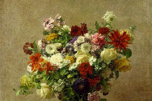 Анри Фантен-Латур. Цветы из Нормандии