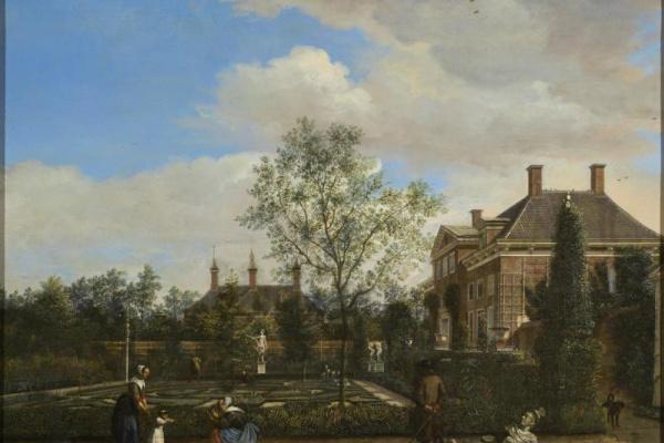 Ян ван дер Хейден. Голландский садик (поместье Спрейтенбург)