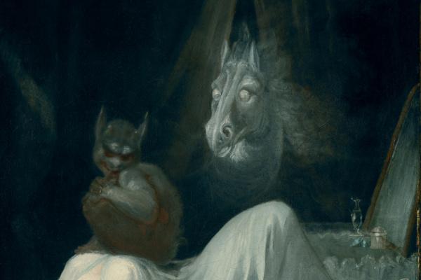 Johann Heinrich Fuessli. The nightmare