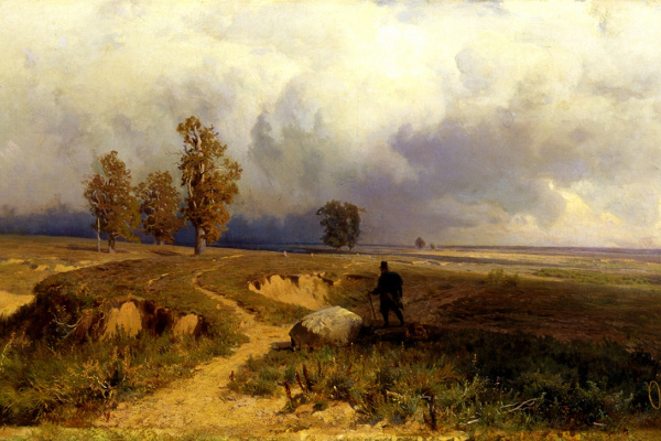 Fedor Alexandrovich Vasilyev Russia 1859 - 1873. Landscape. Before the storm. 1869