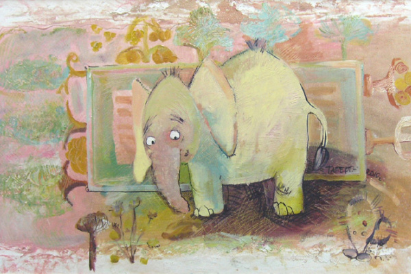 Natalia Tabert. Elephant (Like in Egypt)