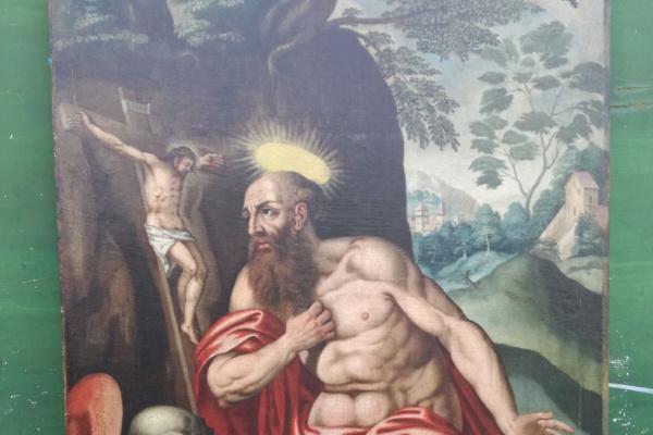 Неизвестный  художник. Святой Джироломо