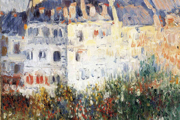 Pablo Picasso. The Boulevard De Clichy