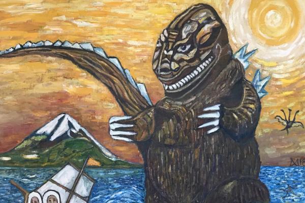 Мурад Халилов. Godzilla