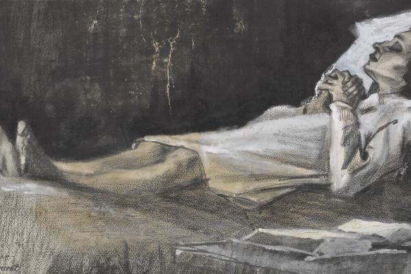 Винсент Ван Гог. Женщина на смертном одре