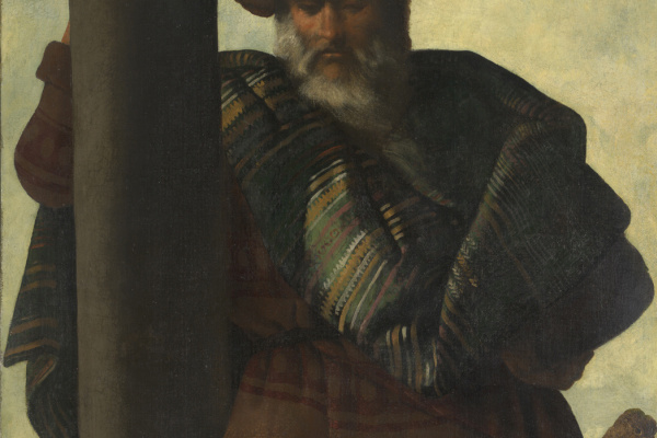 "Francisco de Zurbaran. Reuben from the series ""Jacob and his sons"""