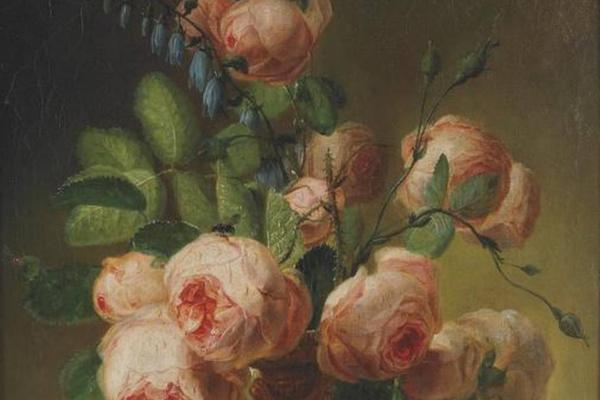 Пьер-Жозеф Редуте. Ваза с цветами
