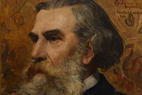 Жан-Поль Лоранс. Портрет А.П. Боголюбова.