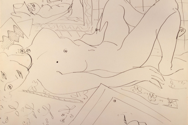 Henri Matisse. Reclining Nude