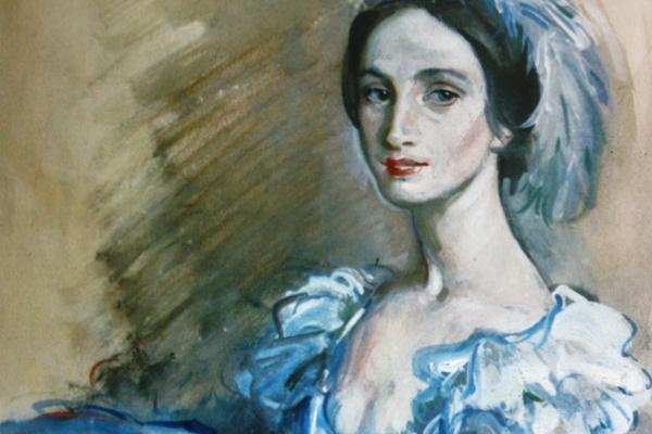 Зинаида Евгеньевна Серебрякова. Портрет балерины