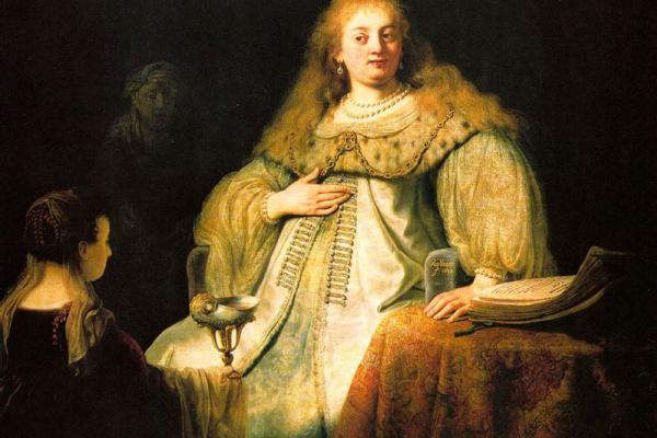 Рембрандт Харменс ван Рейн. Софонисба, принимающая чашу с ядом