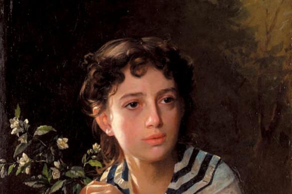 Афанасий Ефимович Рокачевский. Портрет дочери художника