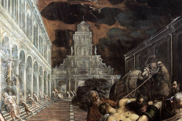 Jacopo Tintoretto. The Stealing of the Dead Body of St Mark