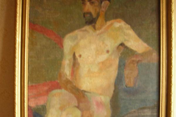 Василий Иванович Воскресенский. Обнажонный художник