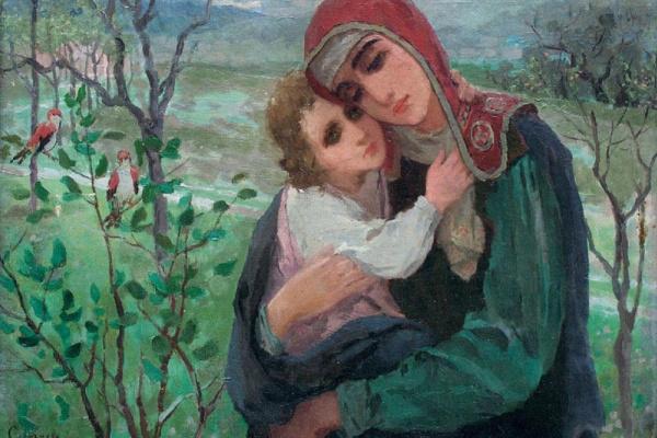 Иван Федорович Селезнев. Материнство