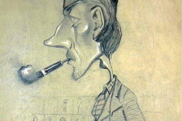 Клод Моне. Шотландец с трубкой