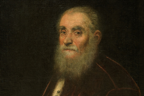 Jacopo Tintoretto. Portrait of Marco Grimani