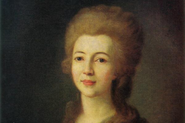 Дмитрий Григорьевич Левицкий. Портрет Е.А. Воронцовой