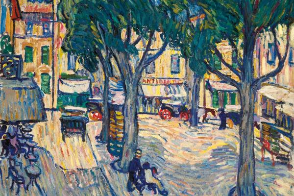 Petr Petrovich Konchalovsky. Arles. Area