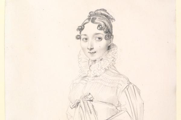 Jean Auguste Dominique Ingres. Portrait of a lady