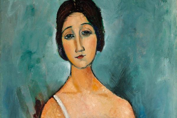 Amedeo Modigliani. Kristina