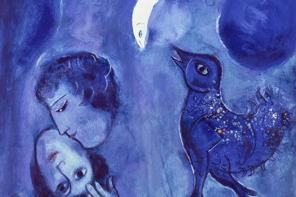 Marc Chagall. Le Paysage bleu