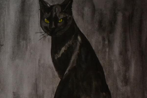 Наталья Трусова. Кошка