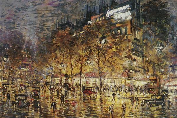 Константин Алексеевич Коровин. Париж