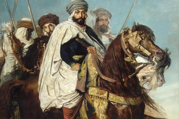 Теодор Шассерио. Али-Бен-Хамет, халиф Константинопольский